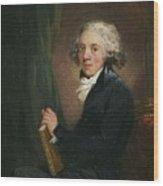 Portrait Of The Scottish Wood Print