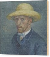 Portrait Of Theo Van Gogh Paris, Summer 1887 Vincent Van Gogh 1853  1890 Wood Print