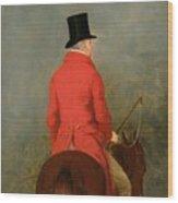 Portrait Of Thomas Cholmondeley Wood Print