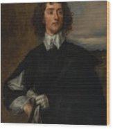 Portrait Of Thomas Hanmer Wood Print