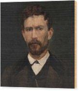Portrait Of Unknown Man Rosales Gallinas, Eduardo Wood Print