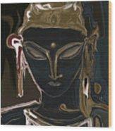 Portrait Of Vajrasattva Wood Print
