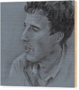 Portrait Of Young Man 19 Wood Print