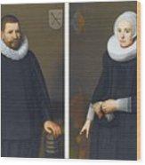 Portraits Of Ijsenbrand Allerts Wood Print
