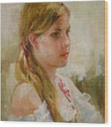 Portraiture Wood Print