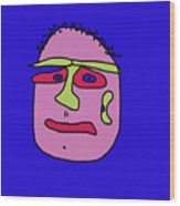 Portrait 02 Wood Print