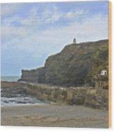 Portreath Cornwall Wood Print