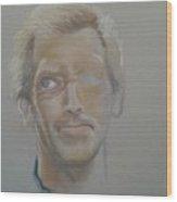 Portret 4 Wood Print