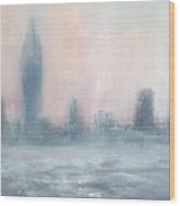 Portsmouth Dawn Part Five Wood Print by Alan Daysh