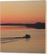 Portsmouth Harbor - Portsmouth New Hamphire Usa Wood Print