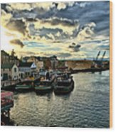 Portsmouth Harbor 2 Framed Print Can Be Seen On Set Of Abcs Desperate Housewives Wood Print by Edward Myers