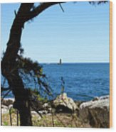 Portsmouth Harbor Light Wood Print