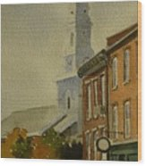 Portsmouth North Church Tower Wood Print