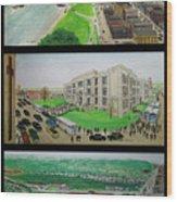 Portsmouth Ohio 1955 Wood Print