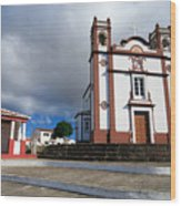 Portuguese Church Wood Print