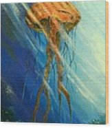 Portuguese Man Of War Wood Print