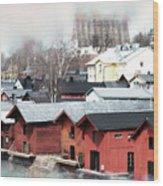 Porvoo Town II Wood Print