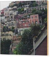 Positano, Amalfi,, Italy Wood Print