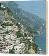 Positano In The Afternoon Wood Print
