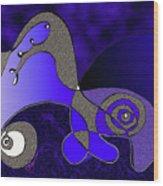 Possibilities Converge Wood Print