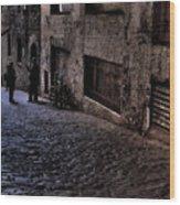 Post Alley IIi Wood Print