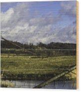 Post By Marshland Wood Print