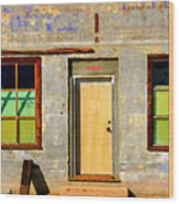 Post Office 90920 Wood Print