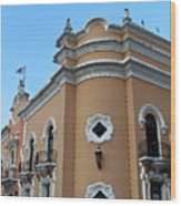 Post Office Guatamala City 6 Wood Print