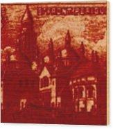 Postage 7 Wood Print