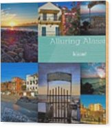 Postcard From Alassio Wood Print