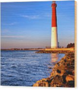Postcard From Barnegat  Wood Print