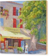 Postcard From Provence Wood Print