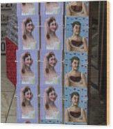 Postcards From Heidelberg Wood Print