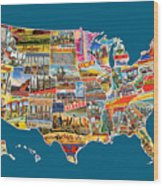 Postcards Of The United States Vintage Usa All 50 States