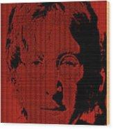 Poster Art Lennon Wood Print