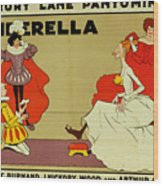 Poster For Cinderella Wood Print