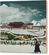Potala Palace. Lhasa, Tibet. Yantra.lv Wood Print