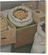 Potato Market Ireland Wood Print