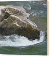 Potomac River Rapids Wood Print