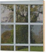 Potomac River Valley On Mount Vernon Wood Print