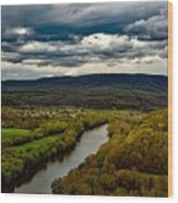 Potomac River Valley - West Virginia Wood Print