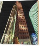 Potsdamer Platz Berlin Wood Print