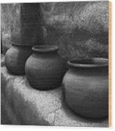 Pottery Tumacacori Arizona Wood Print