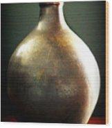 Pottery Vase Wood Print