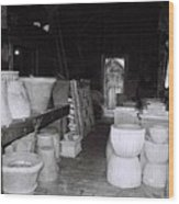 Potting Barn Of Maine Wood Print