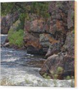 Poudre River 6 Wood Print