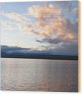 Poulsbo Sunset Wood Print