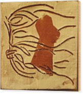 Pout - Tile Wood Print