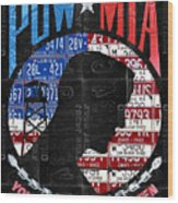 POW MIA  You Are Not Forgotten Metal License Plate Embossed Sign