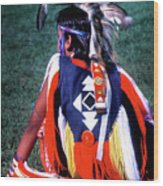 Pow-wow Colors Wood Print